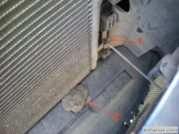 Чистка радиатора форд фокус своими руками 228