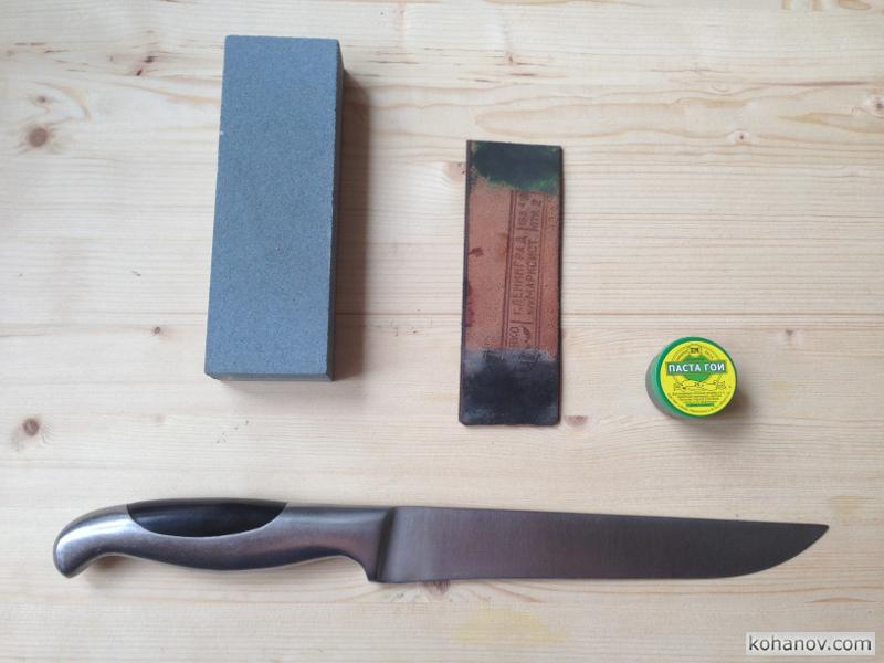 Бюджетная заточка ножей