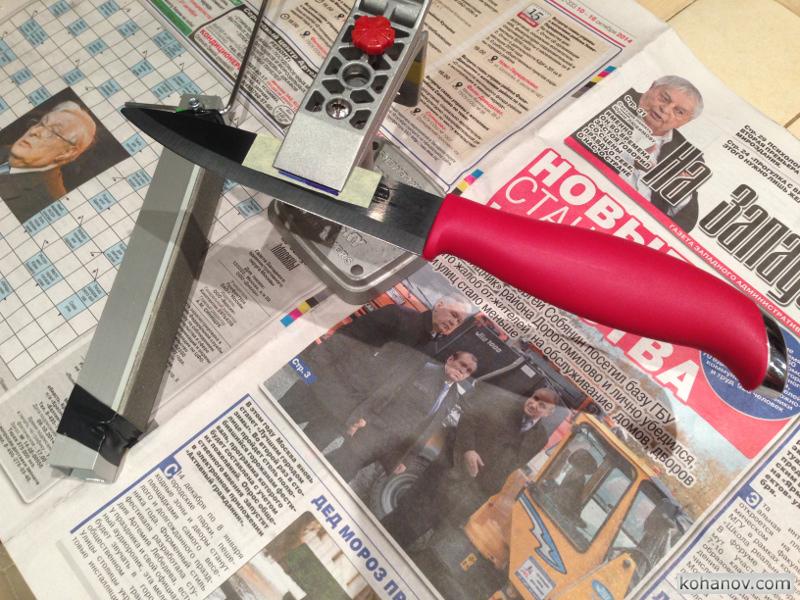 Заточка керамического ножа Supra Kyodo