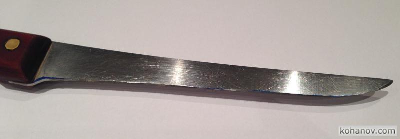 Восстановление ножа