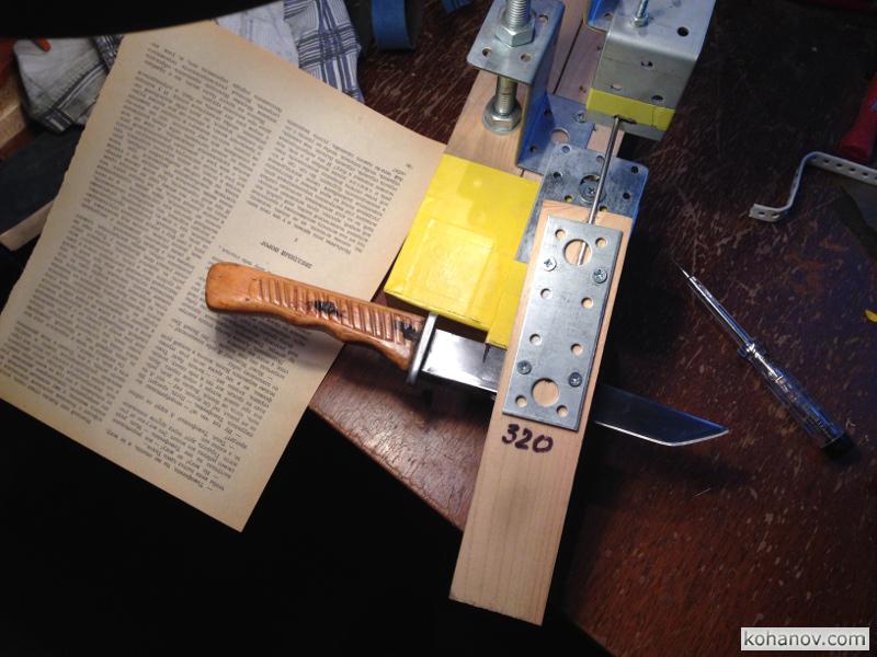 Крутой самодельный нож
