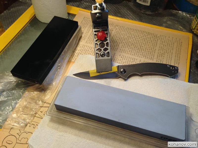 Заточка стали S35VN на ноже Zero Tolerance ZT-0450