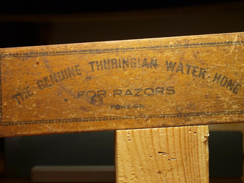 Escher Эшер Тюрингийский Шифер Thuringian water hone Thuringer Тюрингиец